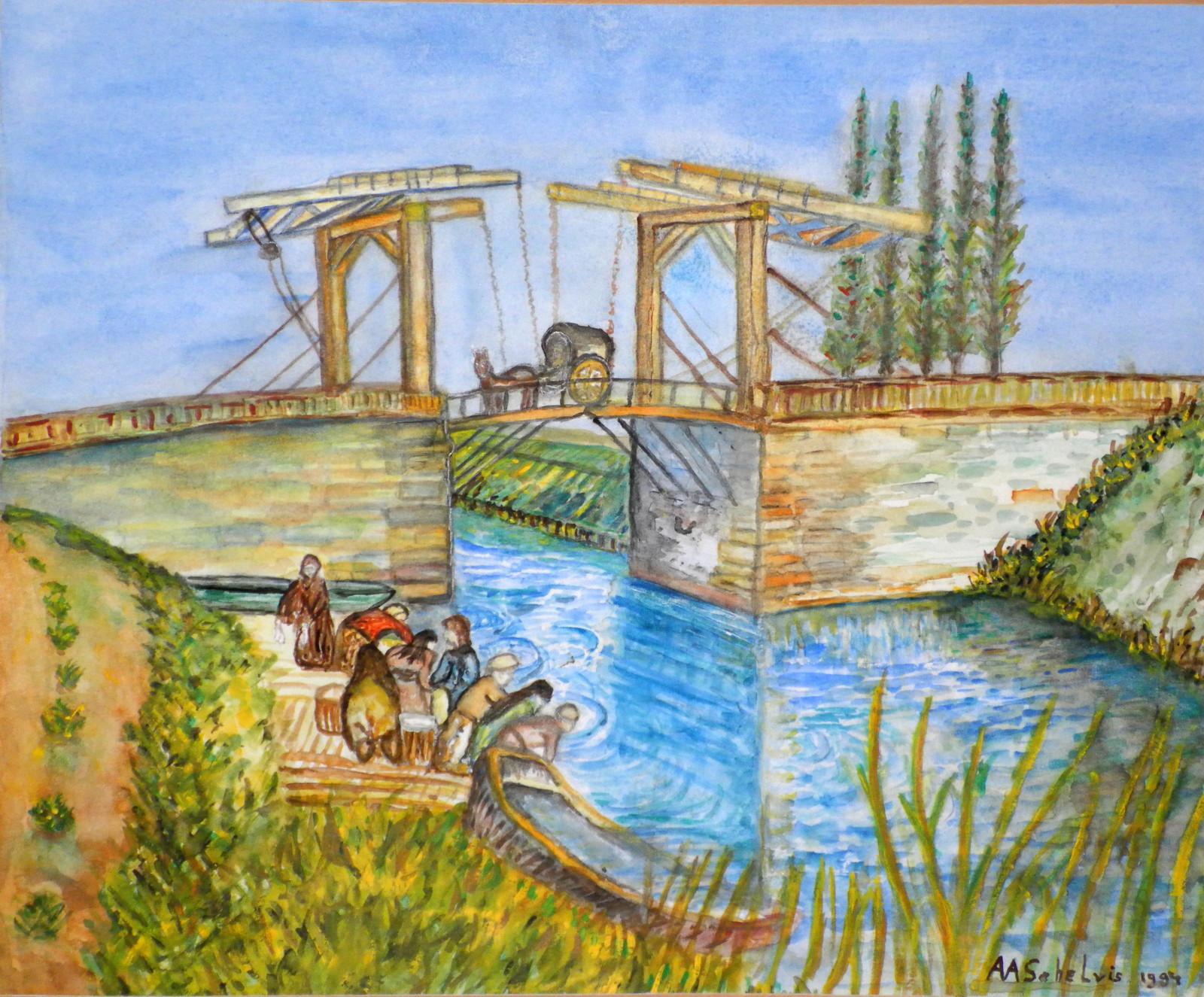 Bruggetje te Arles