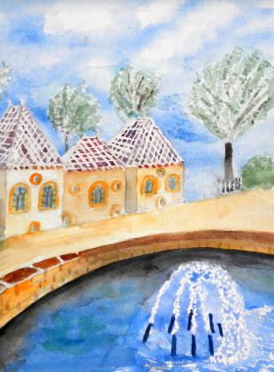 Duiventil met fontein Beverwijk